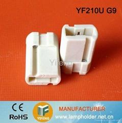 g9 halogen lamp socket