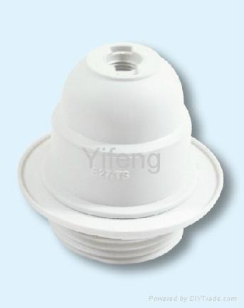 plastic lamp holder  3