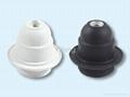 plastic lamp holder  4