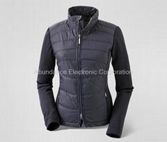 智能温控发热运动夹克