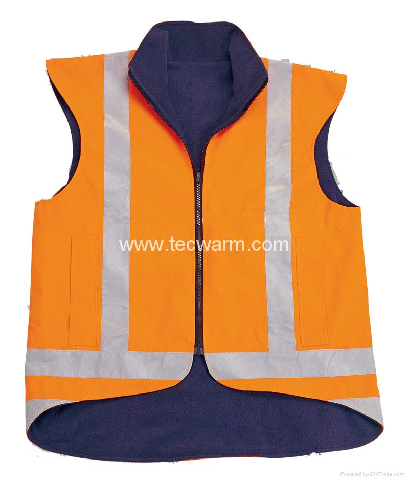 Heated Safety Vest