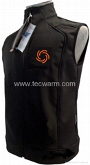 Heated Soft-shell Vest