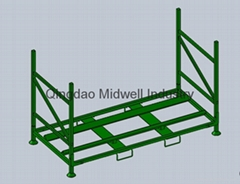 Foldable Tire Stacking Racks