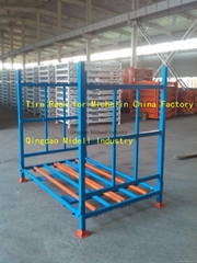 Tire Stacking Racks for Michelin Tyre