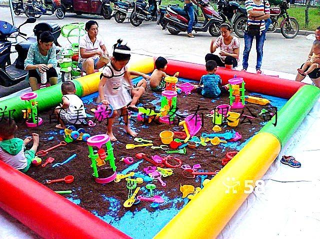 儿童充氣沙灘池 1