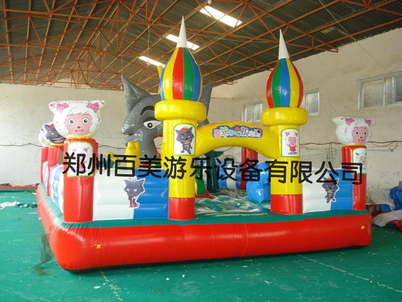 山東儿童充氣城堡 4