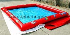 大型充氣水池