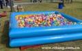 充氣海洋球池