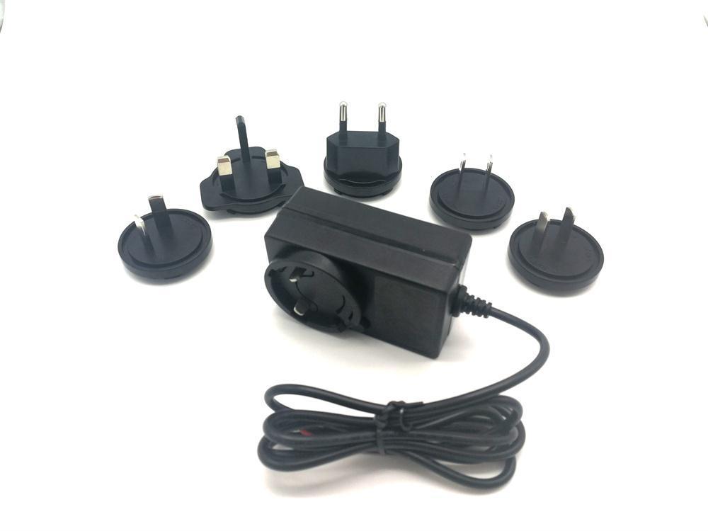 12V2A 可換插腳電源適配器 2
