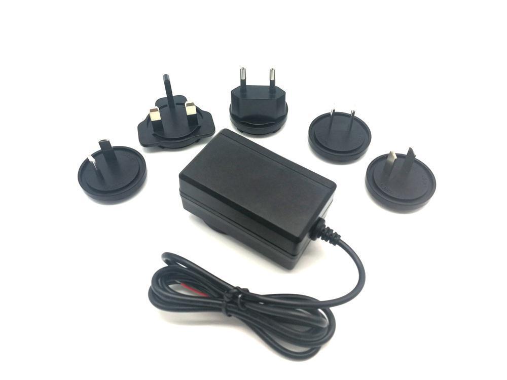 12V2A 可換插腳電源適配器 4