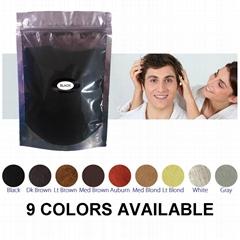 Hot sale best hair building fibers refill bag 25g-100 grams for hair loss