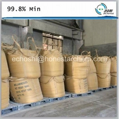white crystalline powder melamine powder 99.8%