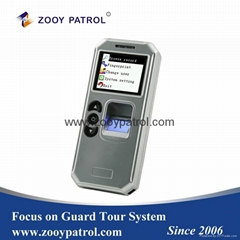 ZOOY Z-6500F Fingerprint Guard Patrol System for Duty Personl's Time Attendance