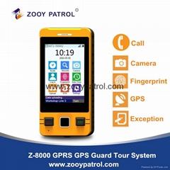 Z-8000 Voice Talking GPS Fingerprint Guard Patrol System