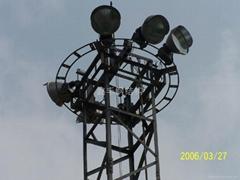 21.5米昇降式照明燈塔