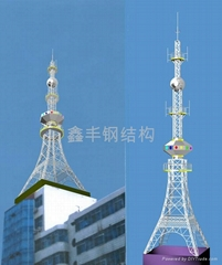 楼顶组合装饰工艺塔