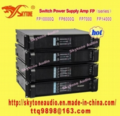 4 Channel Power Switch Amplifier (Lab Gruppen style Fp6000q)