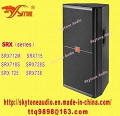 "Dual 15"" PA speaker (JBL SRX725 Style)"