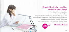 Modern Led Table Lamps 5.4W With New Design Eyeshield Led Reading Desk Lamp
