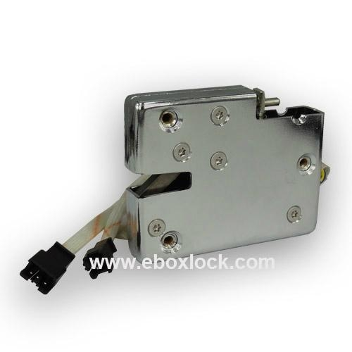 Electric Cabinet Lock With Door Status Reporting Ma1208ls