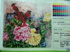 Eco-solvent special wallpaper