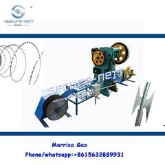 刀片刺绳机器