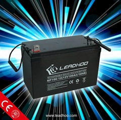 Deep Cycle battery 12v 100ah Solar Battery