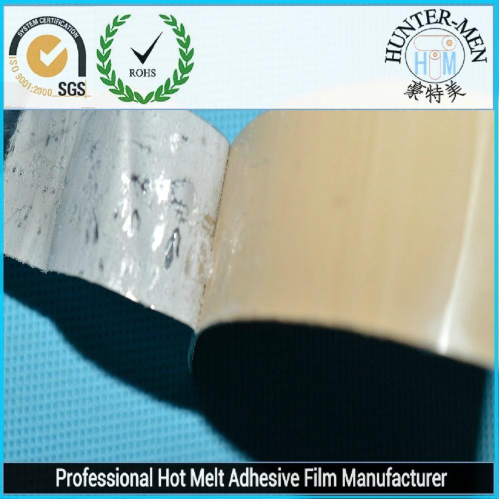 PP bonding with hot melt adhesive film 1
