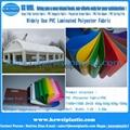 PVC Tarpaulin Fabric For Tent