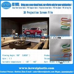 3D Projection Screen Film