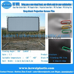 Grey-black Projection Screen Film