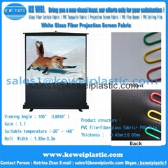 Glass Fiber Projection Screen Fabric