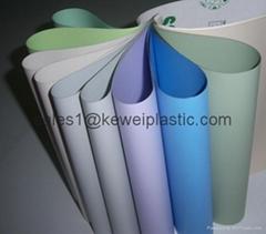 Colorful PVC Coated Fiberglass Cloth Curtain Fabric