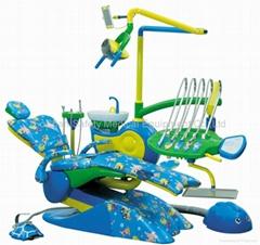 Promotion  Children Dental Unit With Unique Funny Design Dental Chair TUV&CE