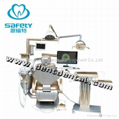 Multifunction Implant Dental Unit Tyrant Gold Dental Chair Special For VIP Clini