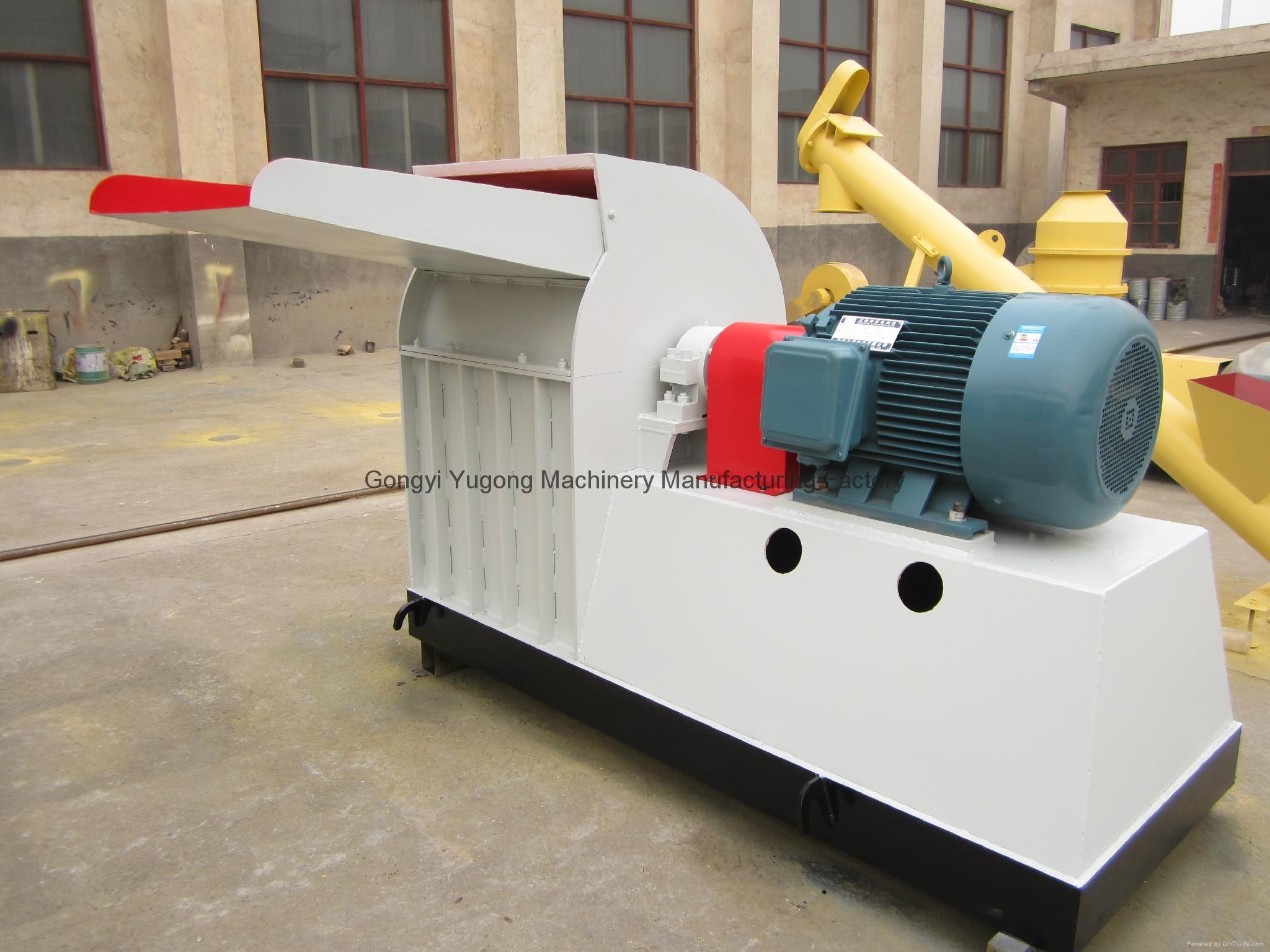 Yugong wood chips hammer crusher,biomass hammer crusher 3