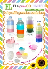 Baby milk powder contain