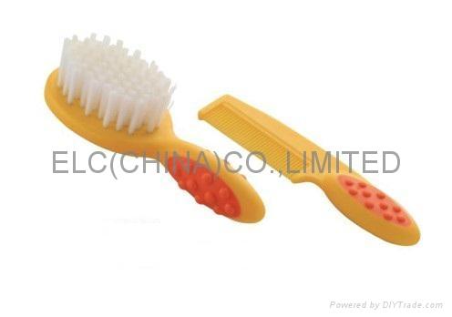 Baby comb and brush set  1