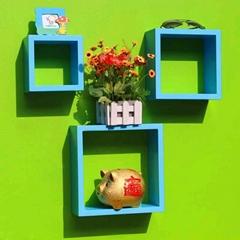 wall display cubes