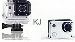 H.264 1.5 inch LCD waterproof 30m 1080p wifi sports camera
