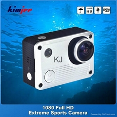 gopro style 1080p full hd sports camera with waterproof case