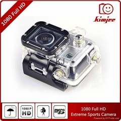 H.264 full hd wide angle underwater 30m waterproof wifi sports camera