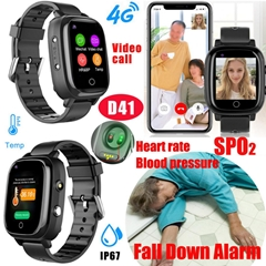 4G LTE New Developed Adult Gift Watches GPS Tracker Device with Thermometer SPO2