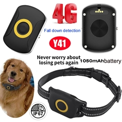 4G Pet Portable GPS Tracking Device with Waterproof