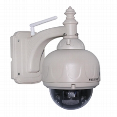 WANSCAM Wifi HD IR 3x Optical Zoom 720P Megapixel Outdoor Dome IP Camera