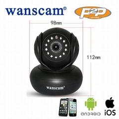 Wanscam JW0004 Indoor Wifi P2P PNP Audio Low Cost IP Camera Home Security
