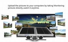 Energy Saving Outdoor Solar Power HD P2P AP CCTV Camera Home Farm Surveillance