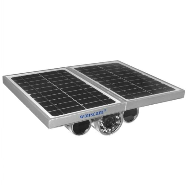 Wireless Outdoor 1mp Hd Solar Power Security Camera Night