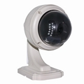 Home Surveillance 1MP HD PTZ Zoom Outdoor Dome H.264 Mobile View IP Camera 5