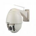 Outdoor 2MP Wifi PTZ Dome Waterproof IP